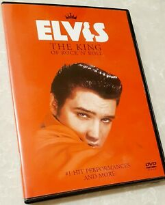 Elvis The King of Rock N Roll DVD *RARE* #1 Hit Elvis Presley VGC 30 Music Clips