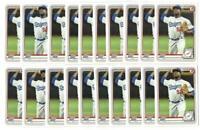 x100 JOSIAH GRAY 2020 Bowman #48 Rookie Card RC lot/set Los Angeles Dodgers star