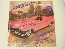 ARETHA FRANKLIN SIGNED FREEWAY OF LOVE VINYL ALBUM PINK VINYL