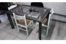 Industrial style metal table