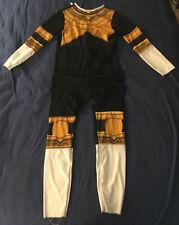 Vintage 1996 Power Rangers Zeo Black Halloween Costume Kids Size 12-14