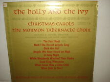 The Holly and The Ivy Christmas Carols By The Mormon Tabernacle Choir- Columbia