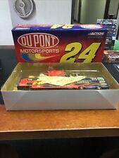 1:64 Action 2001 #24 Dupont Flames Hauler Truck Jeff Gordon Color Chrome 1/2520