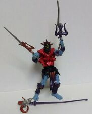 Battle Sounds Skeletor HeMan Weapons Staff Sword Card Action Figure MOTU Vtg Toy