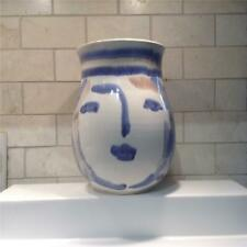 Canadian Pottery – Annette Zakuta Abstract Studio Pottery Vase Canadian-1960
