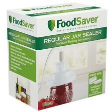 Foodsaver Regular Jar Saver T03-0006-02P NEW For Regular Mouth Pint & Quart Jar