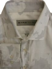 ETRO Shirt Mens 15.5 M White - Paisley