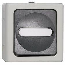 Schalter Kreuz IP44 AP FR Aufputz Feuchtraum  Kopp BLUE ELECTRIC