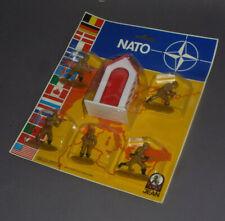 Alte Jean Höfler beige Soldaten Nato im Blister MISB !