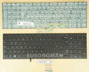 New UK Keyboard For Samsung NP770Z7E For Backlit NO Backlit Board No Frame