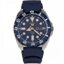 Seiko Men's SRP605K2 'Divers' Blue Rubber Watch