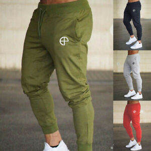 Men Tapered Jogger Sports Pants Gym Running Track Trousers Athletic Sweatpants