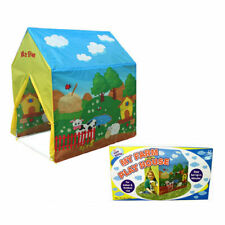 KIDS FARMHOUSE INDOOR OUTDOOR POP UP TENT