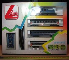 LIMA - SECURITY BLOCK - SET SNCF - NUOVO NEW OLD STOCK - Vintage anni '80 - RARO