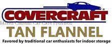 COVERCRAFT TAN FLANNEL indoor Car Cover - fits Mercedes-Benz 380SL 450SL 560SL