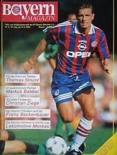 Programm 1995/96 FC Bayern München - SC Freiburg