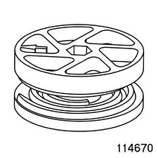 2 Wheel 114670 lock Cam-Lock nut for IKEA malm bed frame brimnes and many others