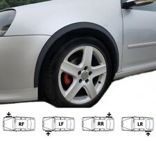 VW Passat B6 New Custom Wheel Arch Trim MATT BLACK set Front Rear 4 pcs. '05-10