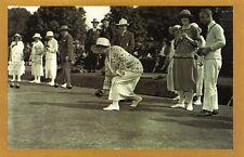 Nostalgia Postcard August 1924 St Fagans Bowling Club Plymouth Repro Card NS4
