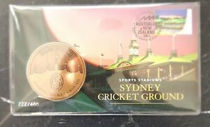 Number 222  2019 Sydney Stamp & Coin Expo Sydney Cricket Ground Day 3 PNC