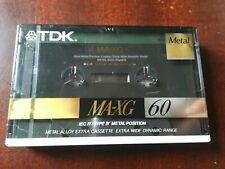 Tdk Ma-xg 60 blanco casete (1) (sellada)