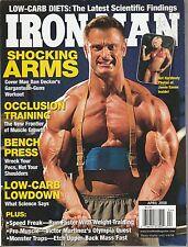 APRIL 2008 IRON MAN vintage body building magazine DAN DECKER