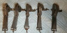 (5) Vintage Oneida Victor # 1. Animal Trap Company. Made in USA. Lititz Pa.