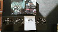 Dunkel Age Of Camelot Pack Komplett Set para PC 4 X Cd-Rom Spanisch + Bookart Am