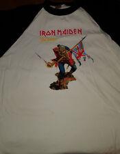 T SHIRT IRON MAIDEN Baseball shirt trooper xl collector
