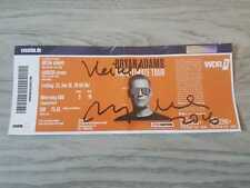 Bryan Adams Autogramm signed Ticket Köln 22.6.2018