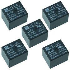 5x 24 V Mini Poder Relé SPDT 15 A