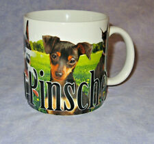 Americaware Doberman Pinscher Dog Big 18 oz Mug Micrawave and Dishwasher Safe