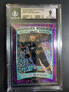2019-20 O-Pee-Chee Platinum Rookie Victor Olofsson Violet Pixels /399