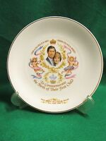 "Prince William 1982 Birth Commemorative 9"" Plate by Mayfair"