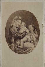 Photographie d'après tableau Raphaël Goupil Cdv Vintage Albumine