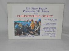 Mackerel Rock Fish Trap Jigsaw Puzzle - Rare - 551 pcs 18 X 24 - Brand New