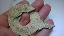 Large Beautiful intricate Roman Lead Votive mirror Uk find L1d