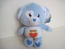 "Care Bear Cousins LOYAL HEART DOG 9"" Plush Stuffed Animal Light Blue"