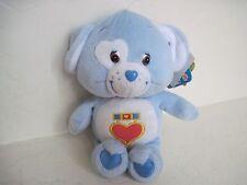 "Care Bear Cousins LOYAL HEART DOG 9"" Plush Stuffed Animal Light Blue"