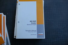 CASE 865 DHP Motor Grader Owner Operator Maintenance Manual book road 2005