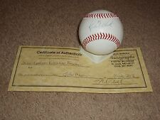 St Louis Cardinals Rick White Signed Baseball with COA