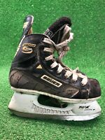 Bauer Supreme 5000 Hockey Skates Size 1d US Size 2 Shoe Ice Power Quality Free