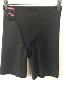 Maidenform Shaping Brief Small DM5005 Firm Foundation Thigh Slimmer Black D34
