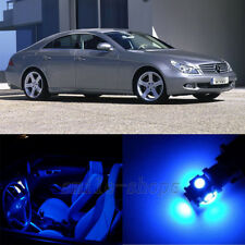 18X Blue Interior LED Light Kit for Mercedes Benz CLS Class W219 2006-2010
