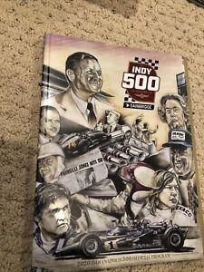 2020 Indianapolis 500 Program Rare