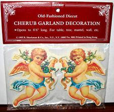8Ft Cherub Angel Garland Valentines Day Decoration Mint/Sealed Shackman