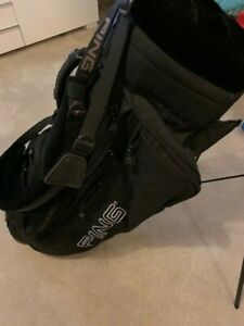 Ping stand bag in black