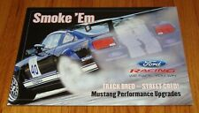 2005 2006 2007 Ford Mustang Performance Upgrades Sales Brochure Shelby GT500