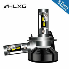 2X H4 LED Headlights Headlamps 1500W 4300K 225000LM with Lumileds Luxeon ZES 4K3