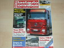 59789) Mercedes Actros 1860 - Volvo 7700 A - MAN TGS - Lastauto Omnibus 11/2007